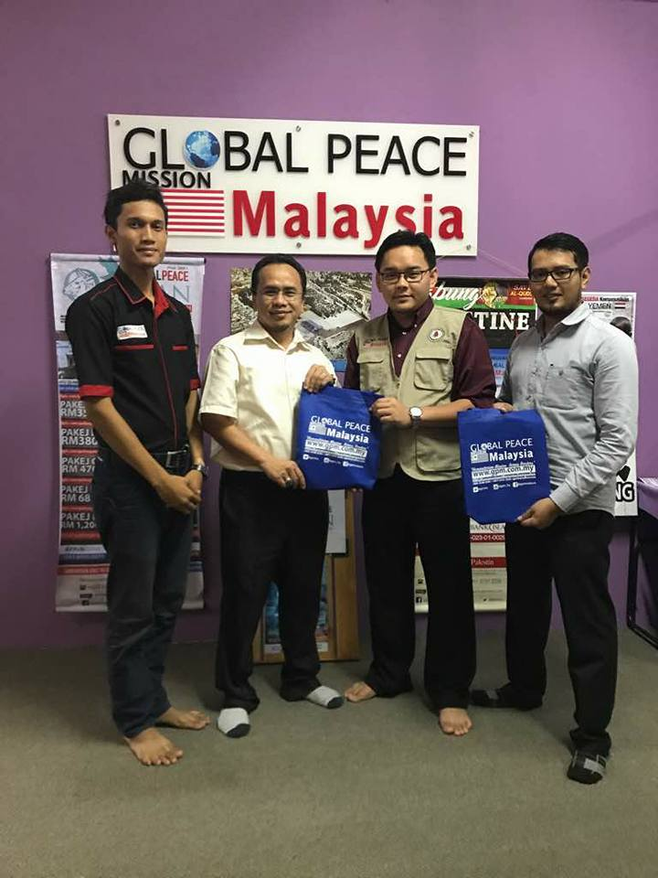 HaRUM Meeting With Global Peace Mission And ABIM