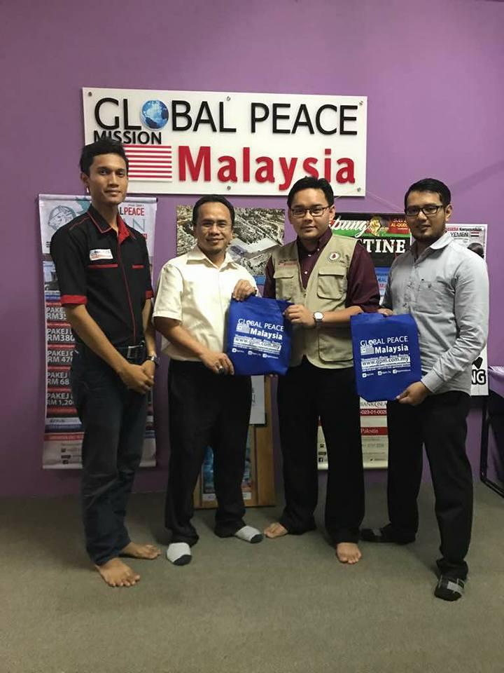 Pertemuan HaRUM Bersama Global Peace Mission Dan ABIM