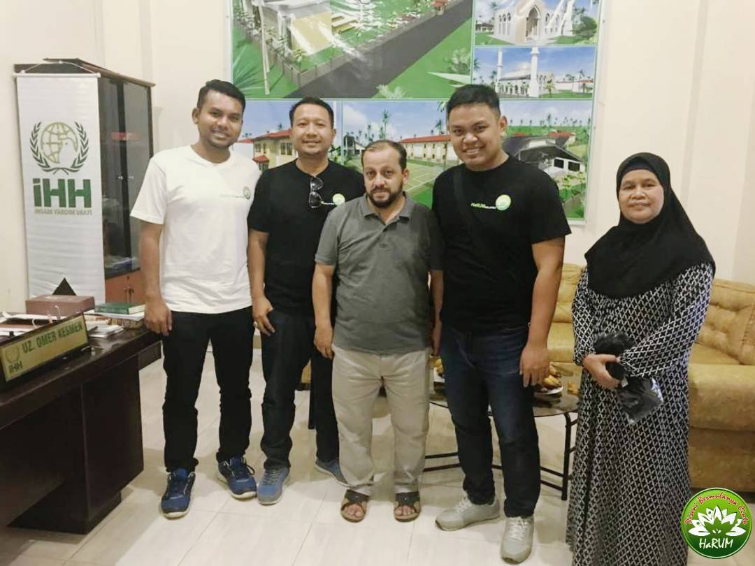 Collaboration HaRUM And IHH (TULONG MARAWI Mission)