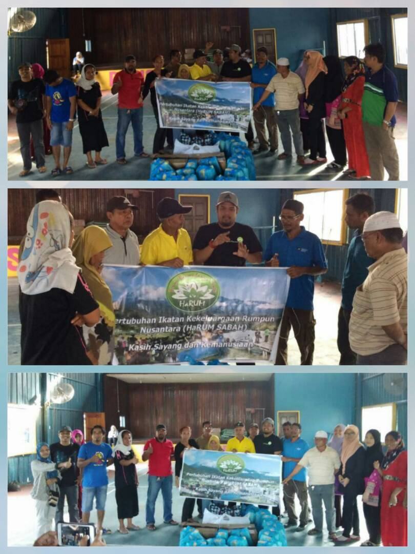 Fire Victims Aid In Lahad Datu