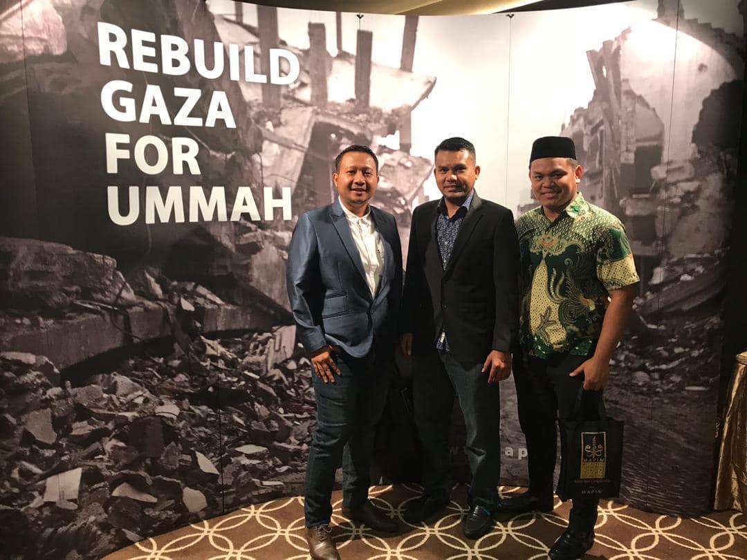 """REBUILD GAZA FOR UMMAH"""