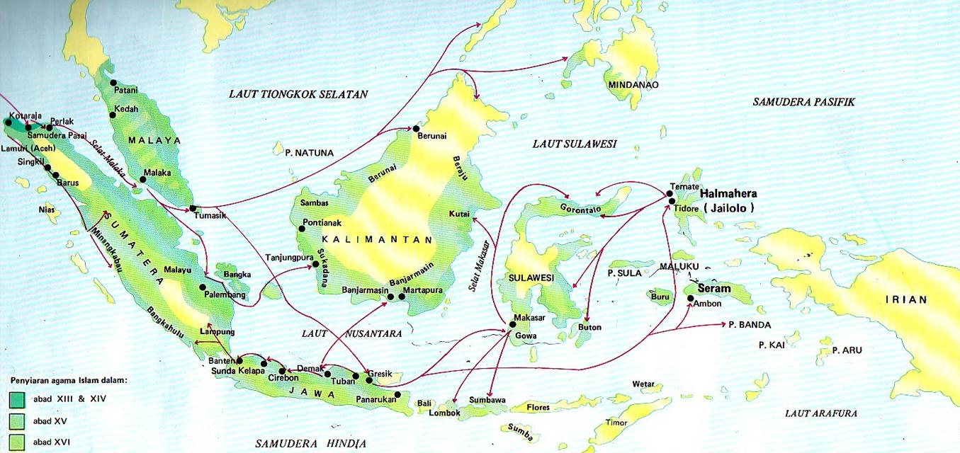 Sejarah Awal Kedatangan Islam Di Selatan Filipina