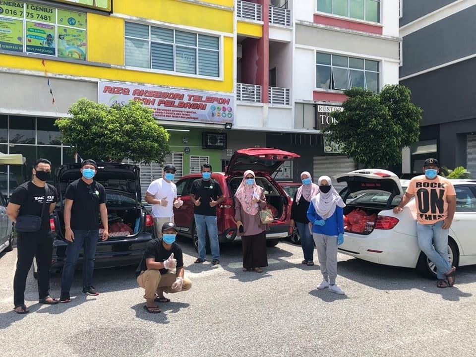 Bantuan Makanan Asas HaRUM Bersama Sekolah Menengah Kebangsaan Subang