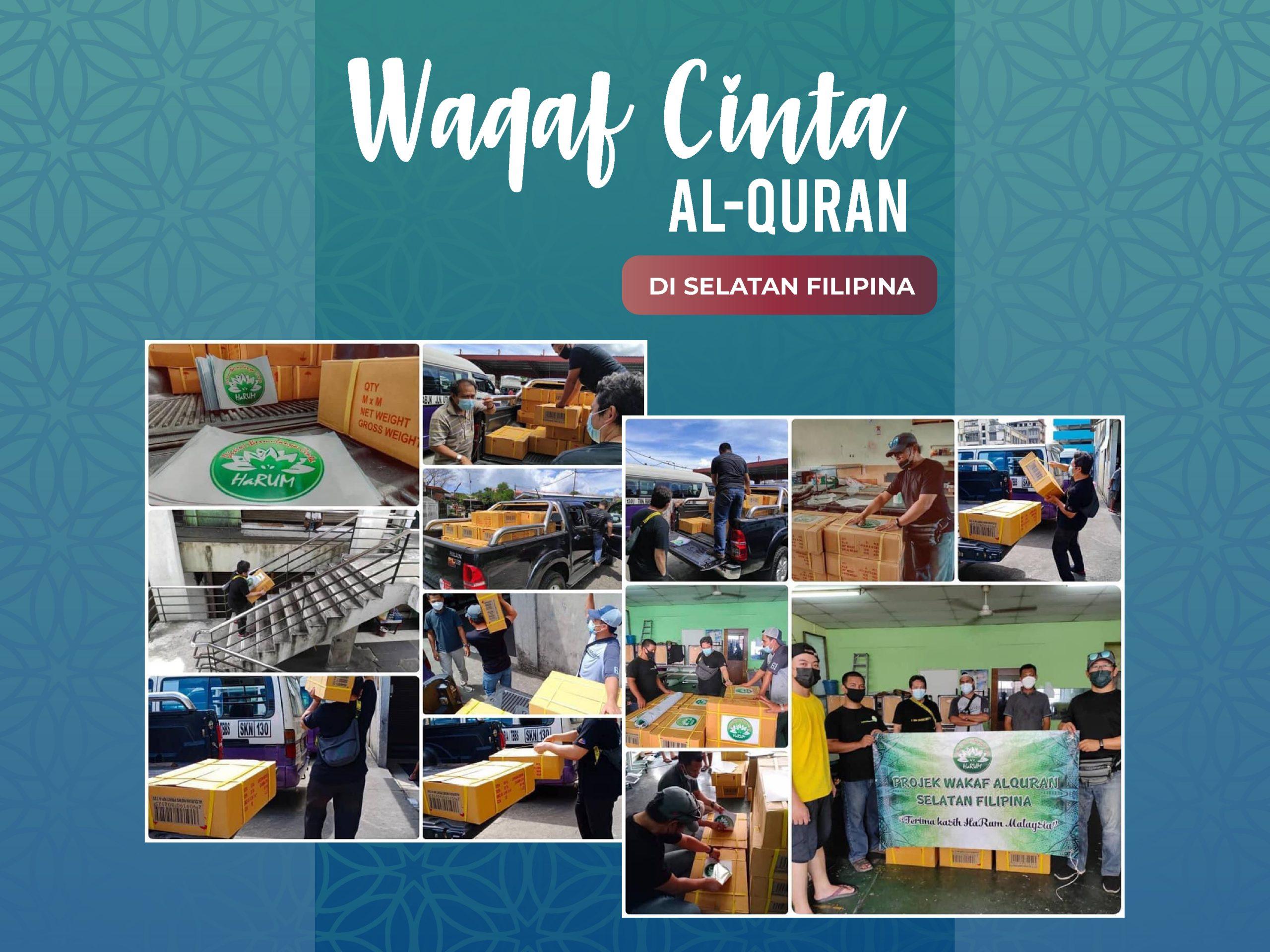 500 NASKHAH AL-QURAN BUAT UMAT ISLAM DI SELATAN FILIPINA