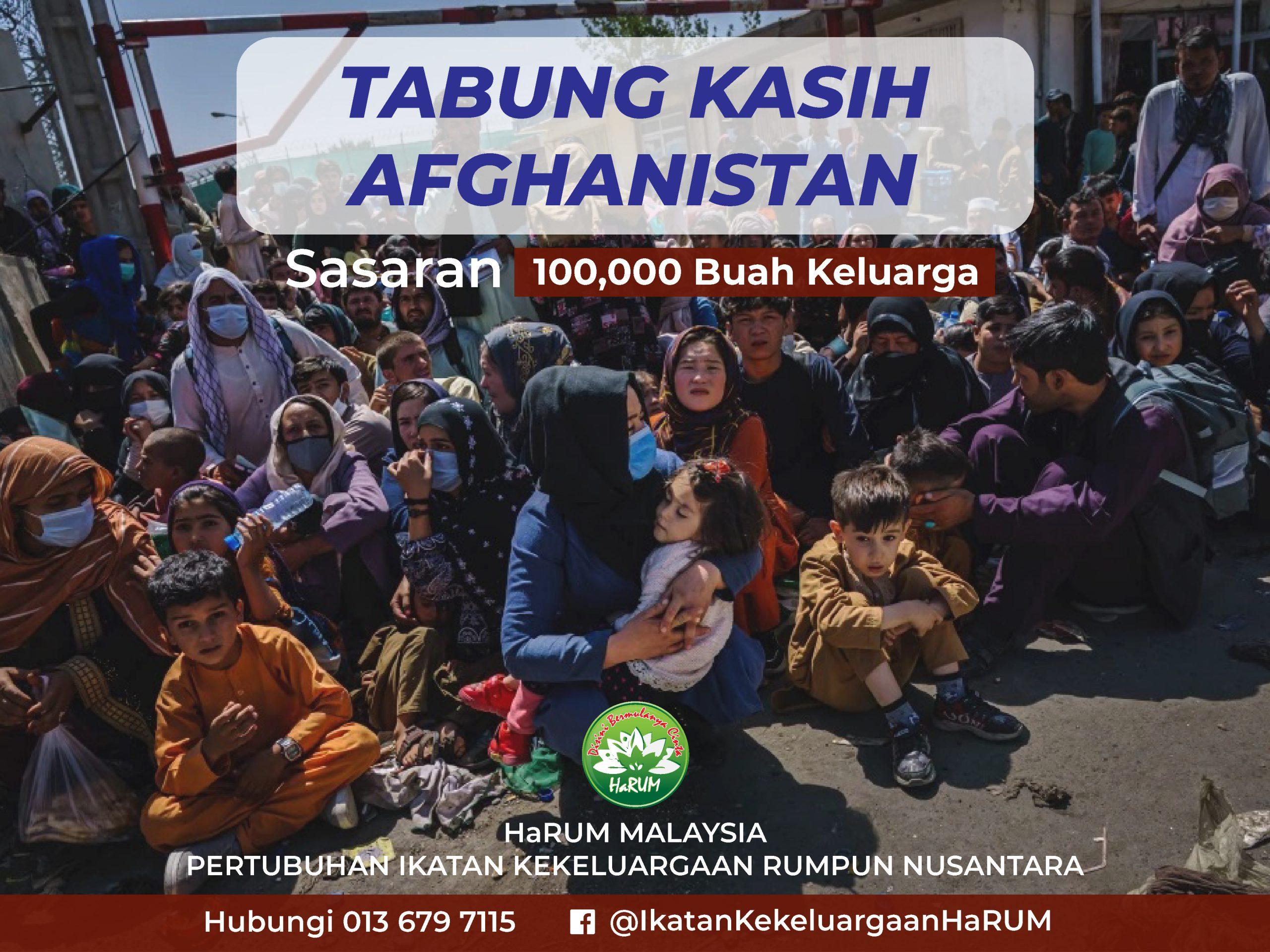 Pelancaran Tabung Kasih Afghanistan